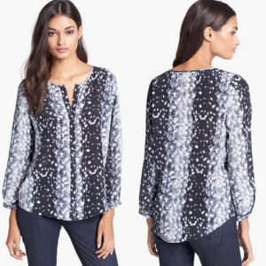 Joie  Purine 100% Silk Blouse Shirt Top Sz Small